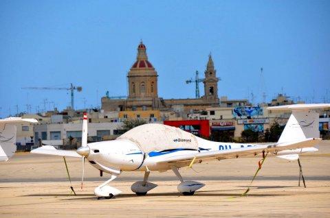 Nad Maltą z głową w chmurach…