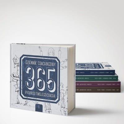 """""""DZIENNIK COACHINGOWY. 365 PYTAŃ OD TWOJEGO COACHA"""""""