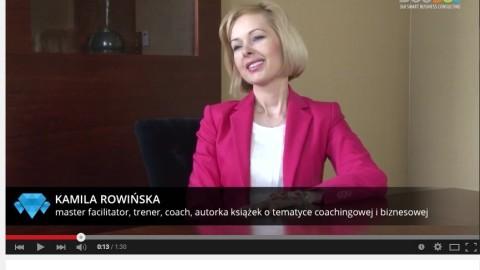 Video wywiad z Kamilą Rowińską na temat sprzedaży, osiągania celów, motywacji, życia