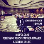 Asertywny Rodzic Partner Manager szkolenie online