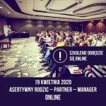 Szkolenie Asertywność online