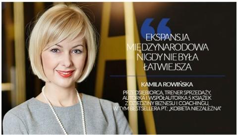 Kamila Rowińska pisze dla dodatku do Rzeczpospolitej