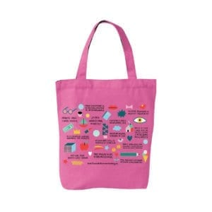 RBC - torba różowa - wizualizacja