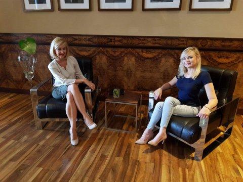 Wizyta i wywiad z Angeliką Chrapkiewicz – Gądek w drukarni