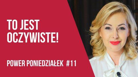 POWER PONIEDZIAŁEK #11 Wiesz czy robisz? – Kamila Rowińska – vlog