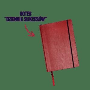 Dziennik Kobiety Niezależnej Pakiet Premium z notesem Dziennikiem Sukcesów