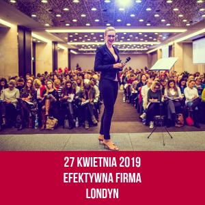 Szkolenie Efektywna Firma Londyn Kamila Rowińska