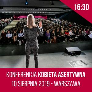 Konferencja Kobieta Asertywna Warszawa