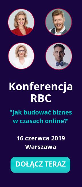 Konferencja RBC - Jak budowaćbiznes w czasach online?
