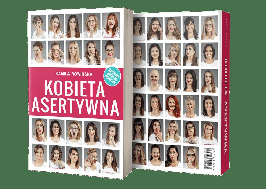 Książka Kobieta Asertywna okładka