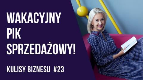 Strategia sprzedaży książki w internecie – KULISY BIZNESU #23 – Kamila Rowińska – vlog