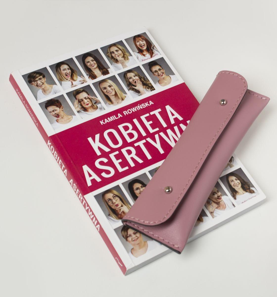 Etui piórnik pink Kamila Rowińska