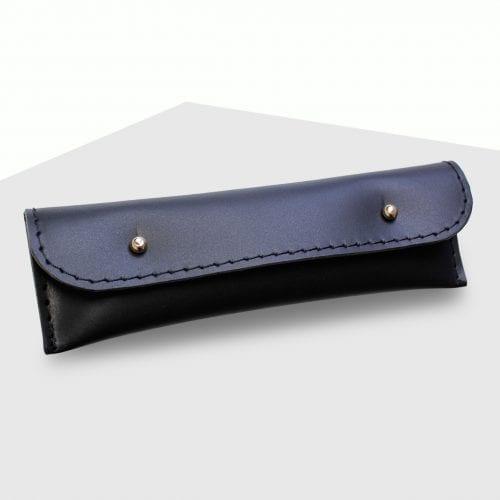 Etui na pióro lub długopis, minimalistyczne – Black – Kamila Rowińska