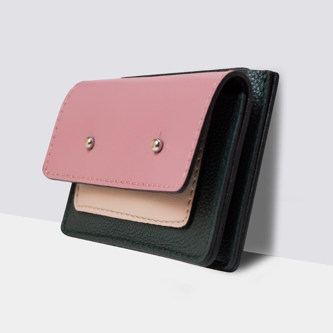 Kamila Rowińska portfel pink