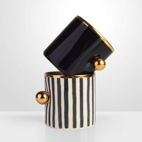 Unikatowa filiżanka Black Pearl skompletuj swój zestaw