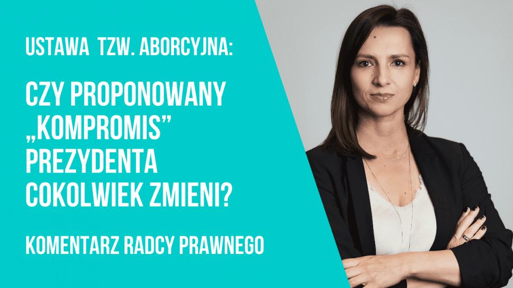 """""""Kompromis"""" prezydenta Andrzeja Dudy w sprawie aborcji"""