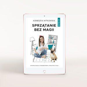 E-book Sprzątanie bez magii Agnieszka Witkowska