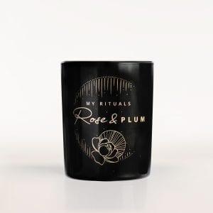 Ekologiczna świeca Rose & Plum
