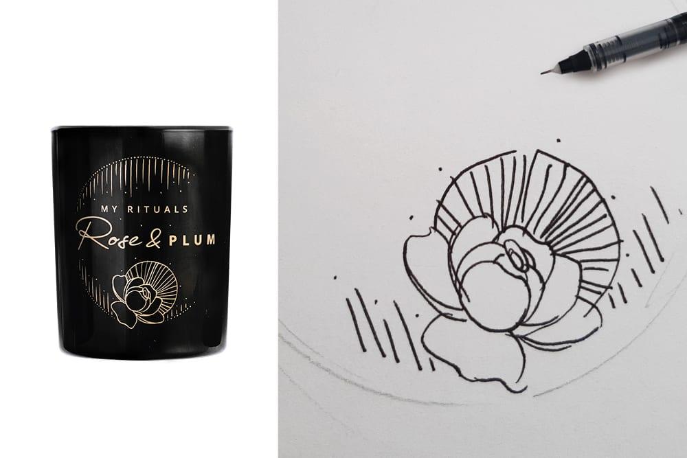 Projekt świec sojowych Aleksandra Kot