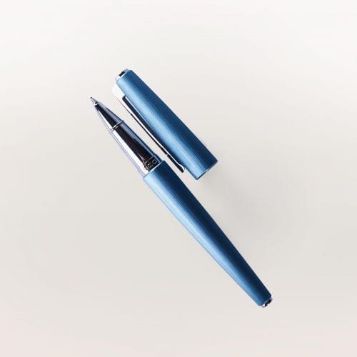 Eleganckie pióro kulkowe Cloudy Blue Kamila Rowińska