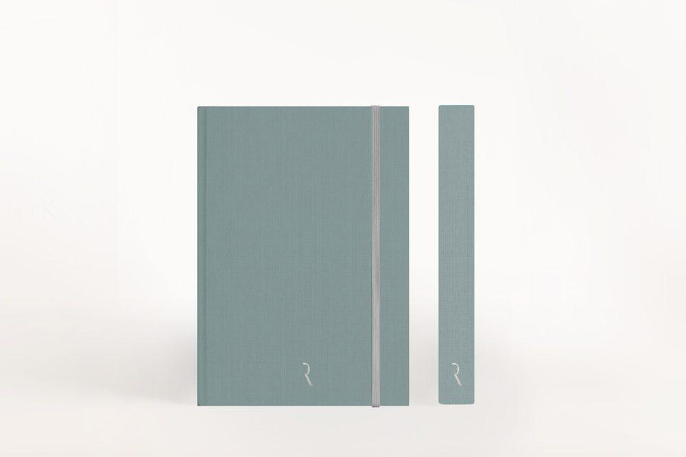 Dziennik Kobiety Niezależnej Cloudy Blue