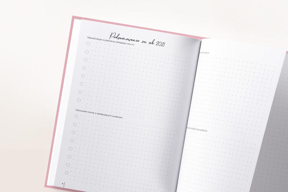 Dziennik Kobiety Niezależnej Flamingo Pink
